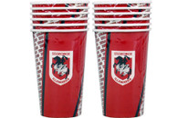 NRL PARTY CUPS ST.GEORGE 6PK 500ML