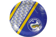 NRL PARTY PLATES EELS 6PK 24CM