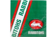 NRL PARTY NAPKINS RABBITOHS 12PK 33*33CM