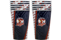 NRL PARTY CUPS ROOSTERS 6PK 500ML