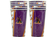 NRL PARTY CUPS STORM 6PK 500ML