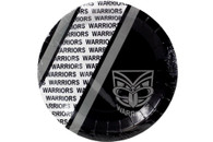 NRL PARTY PLATES WARRIORS 6PK 24CM