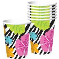 Cups Wild Isle Tropical Hibiscus,