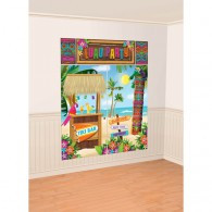 Tiki Scene Setter Decorating Kit Luau Party