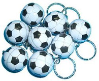 SOCCER BALL KEYRINGS 120