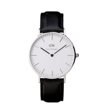 Daniel Wellington Women's Classic Sheffield Silver Tone 36mm Watch