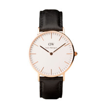 Daniel Wellington Women's Classis Sheffield Rose Gold Tone 36mm Watch