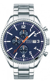 ESQ by MOVADO Catalyst Swiss Quartz Chronograph Blue Dial Men's Watch 07301429