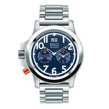 ESQ Men's Fusion Stainless Steel Chronograph Watch 07301424