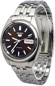Seiko Men's Seiko 5 Automatic Dress Watch Black Dial SNXA13