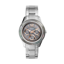 Fossil Ladies Stella Multifunction Stainless Steel Watch ES3891