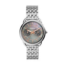 Fossil Ladies Tailor Multifunction Stainless Steel Watch ES3911 Gray