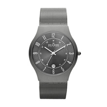 Skagen Titanium Stainless Steel Mesh Men's Watch 233XLTTM