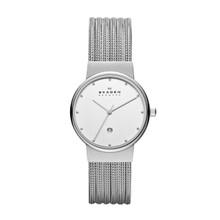 Skagen Stainless Steel Chrome Ladies Watch 355SSS1