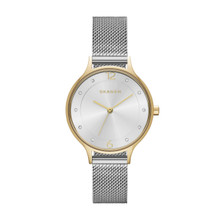 Skagen Anita Silver Dial Stainless Steel Mesh Bracelet Ladies Watch SKW2340