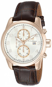 S. Coifman Men's SC0310 Quartz Multifunction Silver Dial  Watch