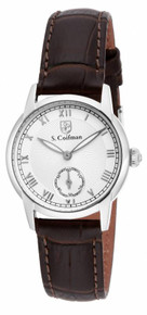 S. Coifman Women's SC0345 Quartz 2 Hand Silver Dial  Watch