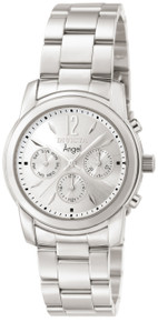 Invicta Women's 0461 Angel Quartz Chronograph Silver Dial Watch