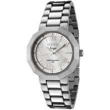 Invicta Women's 0542 Angel Quartz 3 Hand White Dial Watch