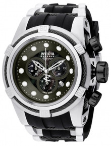 Invicta Men's 0831 Bolt Quartz Chronograph Black Dial Watch