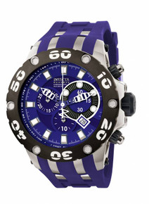 Invicta Men's 0906 Subaqua Quartz Chronograph Blue Dial Watch