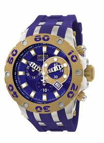 Invicta Men's 0909 Subaqua Quartz Chronograph Blue Dial Watch