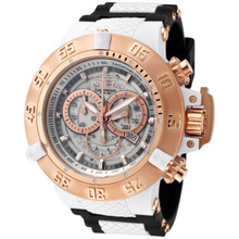 Invicta Men's 0931 Subaqua Quartz Chronograph White Dial Watch