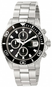Invicta Men's 1003 Pro Diver Quartz Chronograph Black Dial Watch
