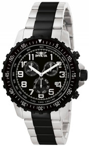 Invicta Men's 1326 Specialty Quartz Chronograph Black Dial Watch