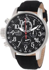 Invicta Men's 1512 I-Force Quartz Chronograph Black Dial Watch