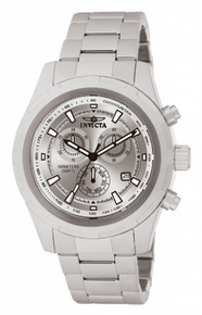Invicta Men's 1558 Specialty Quartz Chronograph Silver Dial Watch