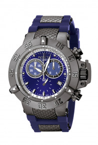 Invicta Men's 5509 Subaqua Quartz Chronograph Blue Dial Watch