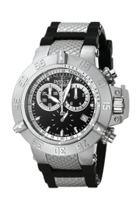 Invicta Men's 5511 Subaqua Quartz Chronograph Black Dial Watch