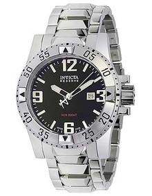 Invicta Men's 5672 Excursion Quartz 3 Hand Black Dial Watch