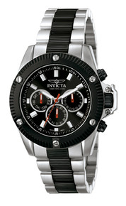 Invicta Men's 5715 Specialty Quartz Chronograph Black Dial Watch