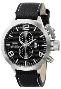 Invicta Men's 6606 Corduba Quartz Multifunction Black Dial Watch