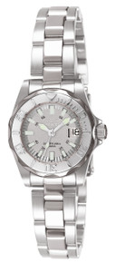 Invicta Women's 7066 Signature Quartz 3 Hand Grey Dial Watch