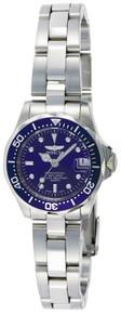 Invicta Women's 9177 Pro Diver Quartz 3 Hand Blue Dial Watch