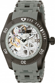 Invicta Men's 10355 Sea Spider Mechanical Multifunction Grey Dial Watch