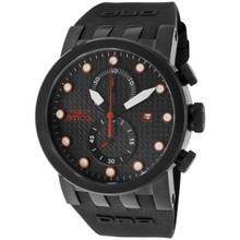 Invicta Men's 10428 DNA Quartz Chronograph Black Dial Watch