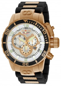Invicta Men's 10620 Corduba Quartz Chronograph Silver Dial Watch