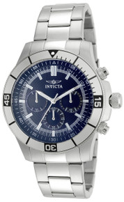 Invicta Men's 12840 Specialty Quartz Chronograph Blue Dial Watch