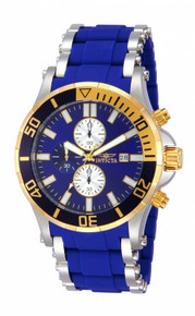Invicta Men's 13667 Sea Spider Quartz Chronograph Blue Dial Watch