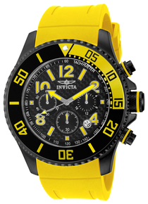 Invicta Men's 13732 Pro Diver Quartz Chronograph Black Dial Watch