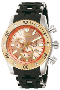 Invicta Men's 13856 Sea Spider Quartz 3 Hand Copper Dial Watch