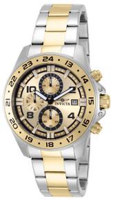 Invicta Men's 13867 Pro Diver Quartz Multifunction Gold Dial Watch