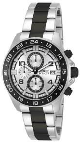 Invicta Men's 13869 Pro Diver Quartz Multifunction Silver Dial Watch