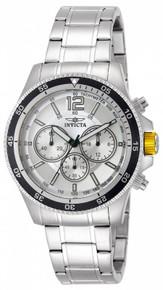 Invicta Men's 13975 Specialty Quartz Chronograph Silver Dial Watch