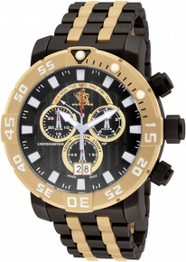 Invicta Men's 14255 Sea Base Quartz Black Dial Watch