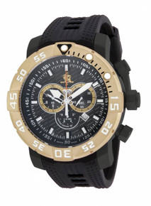 Invicta Men's 14286 Sea Base Quartz Multifunction Black Dial Watch